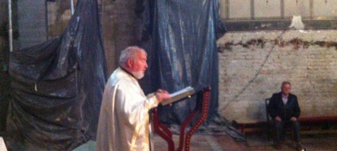 Четврта недеља по Пасхи у Храму Силаска Светог Духа на апостоле у Руми