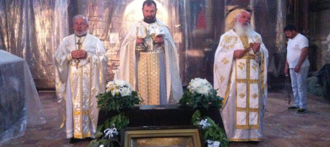 Седма недеља по Пасхи у Храму Силаска Св. Духа на апостоле у Руми