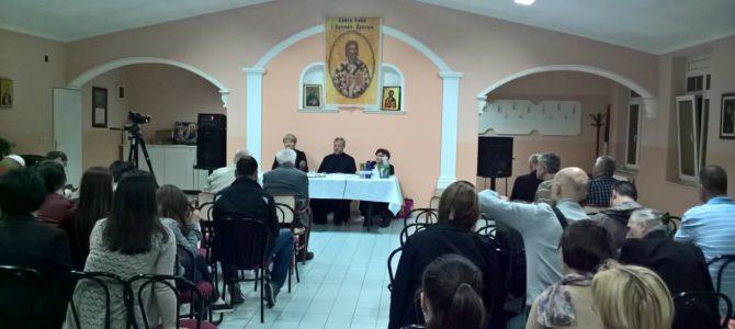 Одржано друго предавање поводом године посвећене породици у Епархији сремској