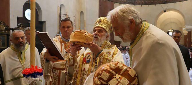 Торжественом Литургијом прослављена слава цркве Светог Марка на Ташмајдану