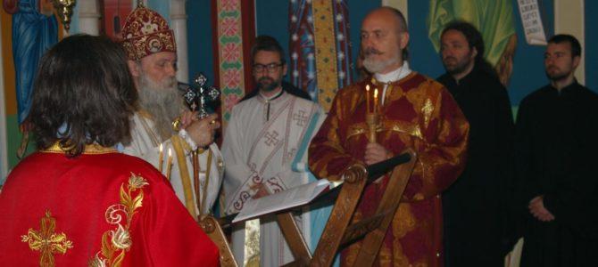 Света Архијерејска Литургија у параклису при Окружном затвору у Београду