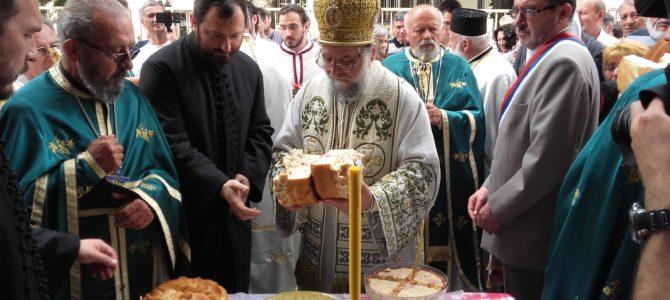 Свечано прослављена слава Храма Силаска Светог Духа на апостоле у Руми