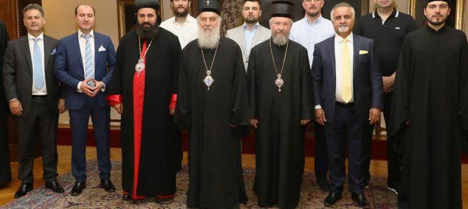 Његова Светост Патријарх српски г. Иринеј примио представнике Сиријско-јаковитске Цркве