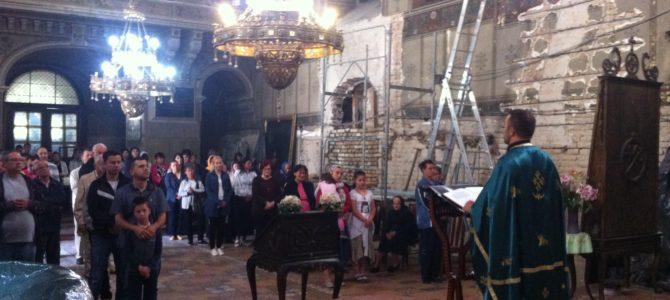 Друга недеља по Педесетници у храму Силаска Светог Духа на апостоле у Руми