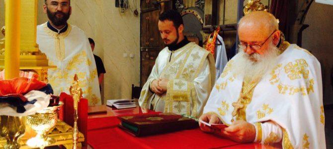 Прослављена храмовна слава у Кузмину