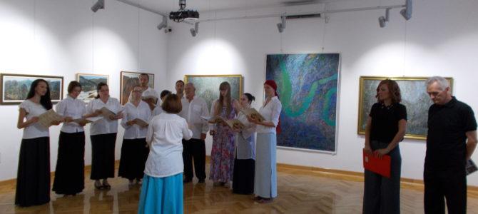 Отворена изложба слика и цртежа Радована Кузмановића у Сремској Митровици