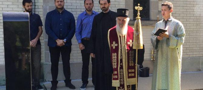 Његова Светост Патријарх српски г. Иринеј служио помен српским архијерејима у Либертивилу