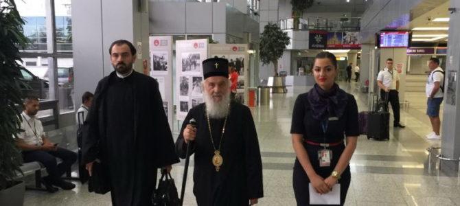Његова Светост Патријарх српски г. Иринеј отпутовао у САД