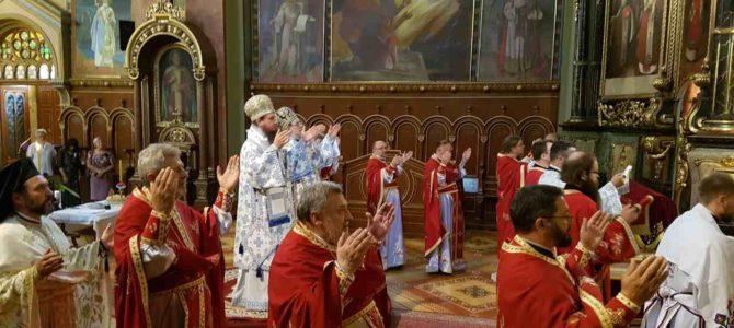 Његово Преосвештенство Епископ сремски Господин Василије прославио своју крсну славу – празник Светог пророка Илије