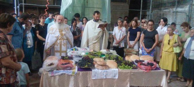 Преображење Господње у храму Силаска Светог Духа на апостоле у Руми
