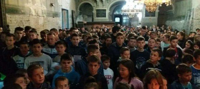 Одржан молебан за почетак нове школске године у Руми