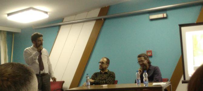 """Трибина """"Духовност, уметност и филм"""" у организацији Друштва српско-грчког пријатељства Бешка"""