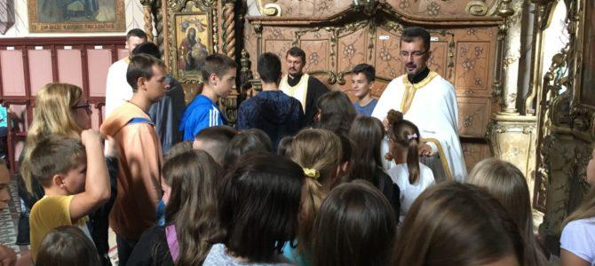 Молебан за почетак нове школске године у Шиду
