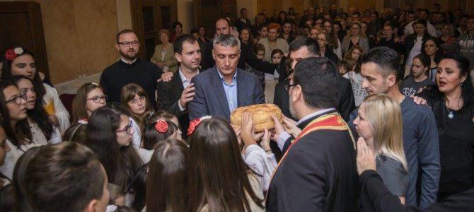 """Прослављена слава Дечијег црквеног хора """"Благослов"""" из Сремске Митровице"""