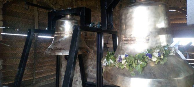 Постављена звона на храм Преноса моштију Светог оца Николаја у Стејановцима