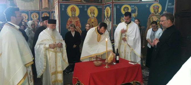 Прослављена слава архијерејског намеништва румског – Свети апостол и јеванђелиста Јован Богослов