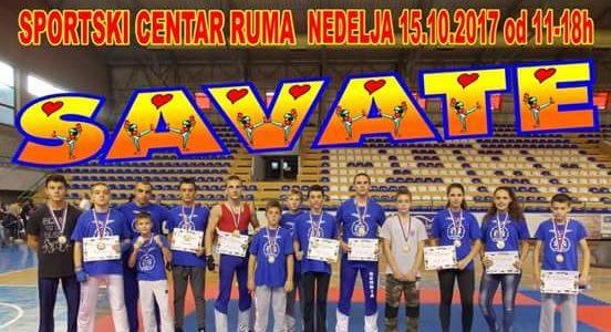 НАЈАВА: Првенство Војводине у асаут саватеу у Спортском центру Рума