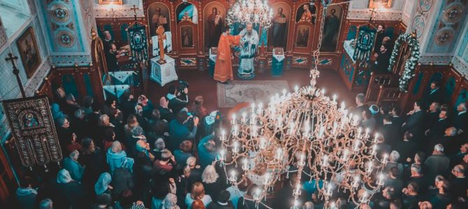 Прва Света архијерејска Литургија Његовог Преосвештенства Епископа зворничко-тузланског Г. Фотијa у Тузли