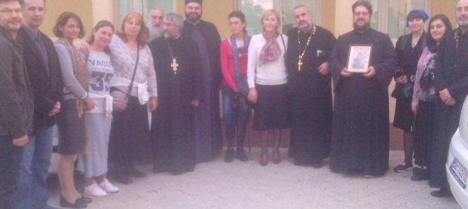 """Одржана трибина на тему """"Црква и млади у Грузији"""" у Попинцима"""