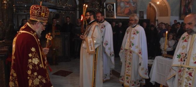 Света Архијерејска Литургија у Шимановцима