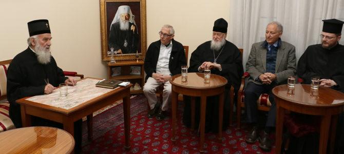 Пријеми у Патријаршији српској, 23. октобар 2017. године