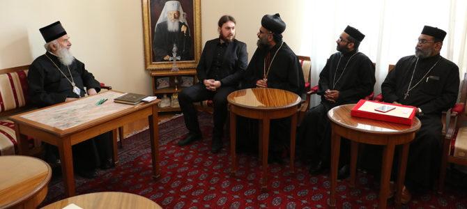 Патријарх српски примио делегацију Малабарске Цркве
