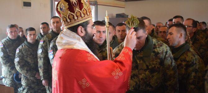Литургија и молебан за припаднике Мировне мисије