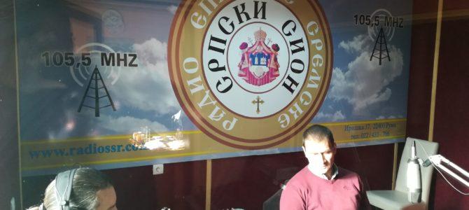 ИМАМО ГОСТА: заменик председника Општине Ириг Миодраг Бебић (звучни запис)