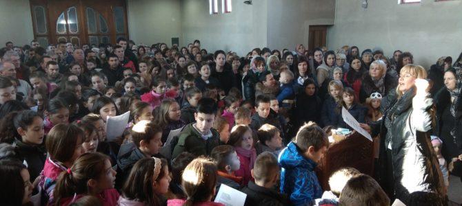 Прослава Материца у храму Свете Петке у Новој Пазови