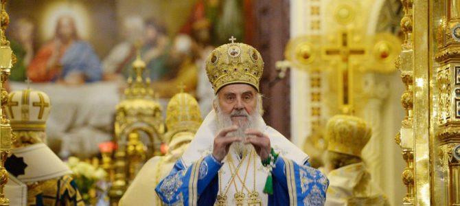 Торжествена Литургија у храму Христа Спаситеља у Москви