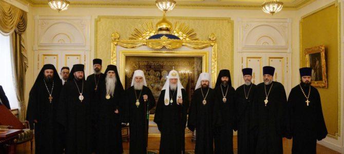 Патријарх Иринеј на јубилеју Руске Православне Цркве
