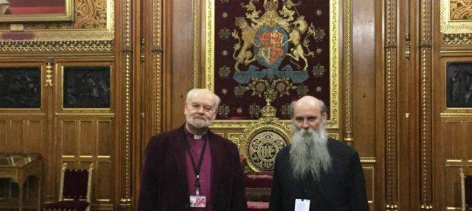 Епископ славонски Јован у Дому лордова у Лондону