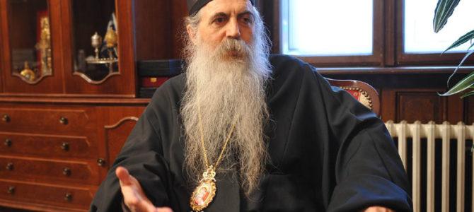 Божићни интервју Епископа бачког Иринеја