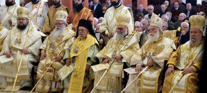Јубилеј Блажњејшег Архиепископа кипарског г. Хризостома