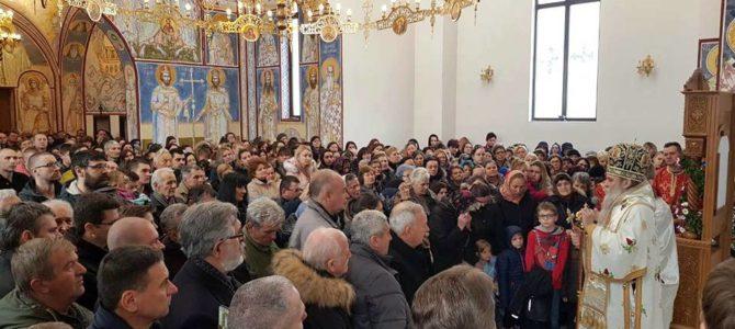 Благослов Новомученика јасеновачких вернима у Шапцу