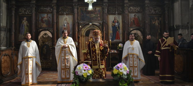 Света Архијерејска Литургија и рукоположење у храму Силаска Светог Духа на апостоле у Руми