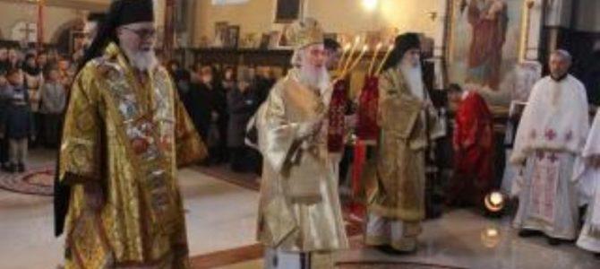 Патријарх Иринеј богослужио у Кањижи