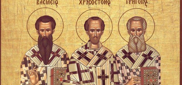 Тајна празника: Света Три Јерарха