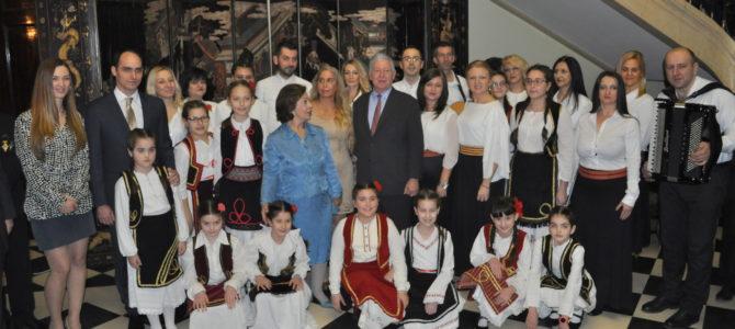 Удружење Краљевина Србија обележило крсну славу Светог Симеона Мироточивог свечаним пријемом на Белом Двору