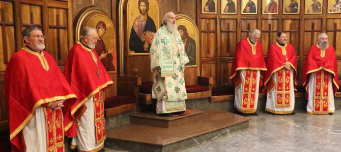 Патријарх Иринеј богослужио у цркви Светог Марка