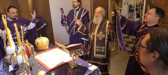 Патријарх богослужио у цркви Ружици на Калемегдану