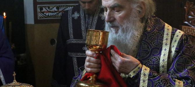 Патријарх богослужио у цркви Светог Георгија у Лештанима