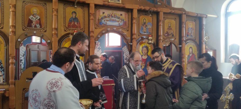Света архијерејска Литургија пређеосвећених дарова и исповест свештенства архијерејског намесништва шидског