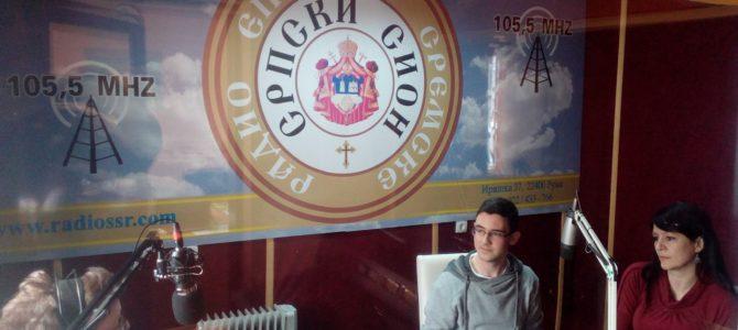 ИМАМО ГОСТА: Срђан Ђурчевачки, ученик III разреда Гимназије у Руми
