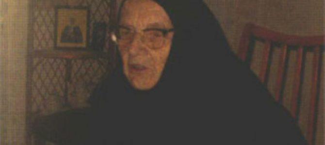 Уснула у Господу мати Евпраксија, игуманија манастира Никоље