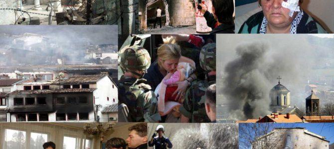 У суботу 17. марта 14 година од мартовског насиља на Косову и Метохији, парастос у Грачаници