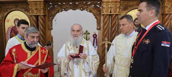 Висока црквена одликовања САЈ-у и њеном команданту