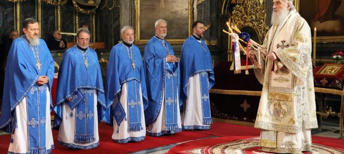Лазарева субота у Саборној цркви у Београду