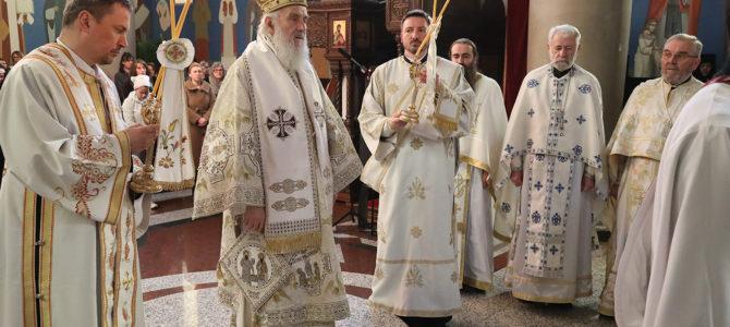 Патријарашка Литургија у манастиру Ваведење