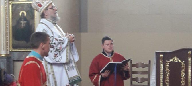 Света Архијерејска Литургија у Белегишу